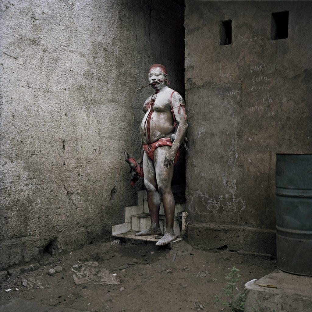 Congolese Wrestler Maitre Sayo