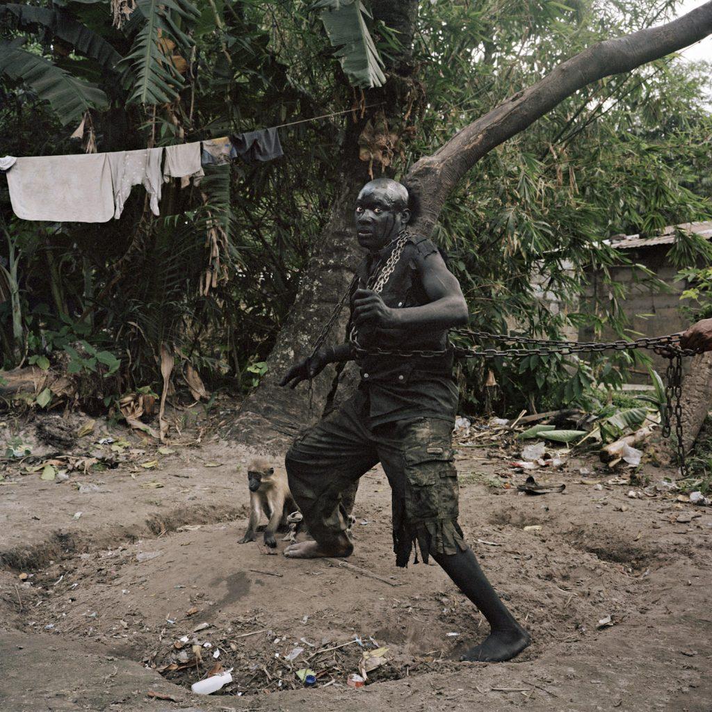 Congolese Wrestler Ebende Molaso