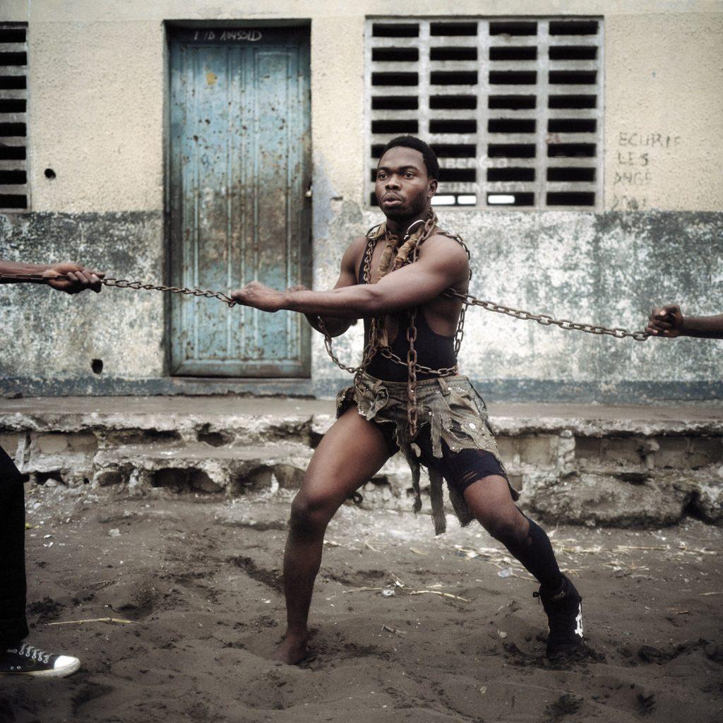 Congolese Wrestler Autriche Liboma