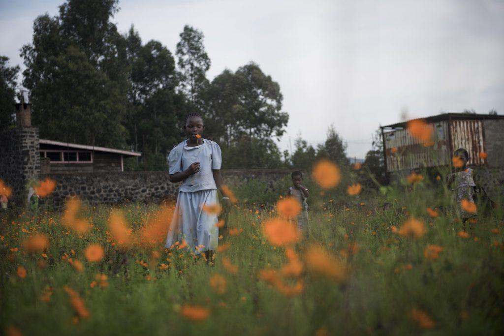 Quartier Don Bosco, Goma. Uivine, 12 ans est originaire de Masisi. Elle a fuit son village en 2008 en proie aux combats initiés par la rébellion du CNDP. Elle n'est jamais retournée.